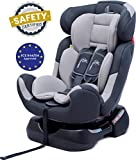 R for Rabbit Jack N Jill Grand - The Innovative Convertible Car Seat for Baby/Kids (from 0-7 Years) (Grey)