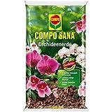 COMPO SANA® Orchideenerde, hochwertige Spezialerde für terrestrische und epiphytische Orchideenarten, 10 L