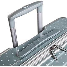VICTORIO & LUCCHINO - 80100 Set 2 Maletas trolley 50/60 cm PC Policarbonato estampado. Rígidas, ligeras y resistentes. Mango telescópico, 2 asas 4 ruedas. Vuelos low cost Ryanair Vueling
