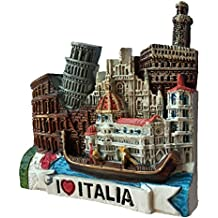 Toscana Italia Europa mundo viaje resina 3d fuerte imán para nevera recuerdo turista regalo chino imán