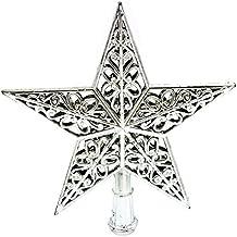 hueco puntas estrellas navideñas adornos del Árbol de navidad