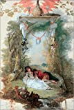 Posterlounge Alu Dibond 20 x 30 cm: Das schlafende Liebespaar von Jean Antoine Watteau/akg-Images