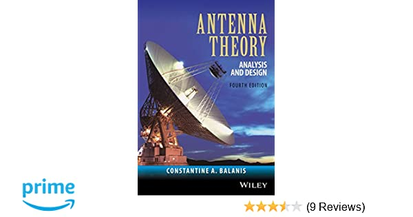Antenna theory analysis and design amazon constantine a antenna theory analysis and design amazon constantine a balanis 9781118642061 books fandeluxe Images