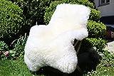 Alpenfell XXXL Großes Schaffell 140-150cm Echtes Fell ökologische Gerbung