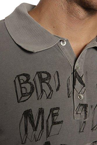 Juicy Couture Herren Shirt Polo-Shirt 7956BM 026 Silver Grau
