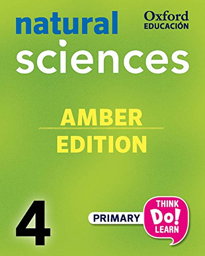 Pack amber natural science primary 4 student's book (+ cd) (think do learn)