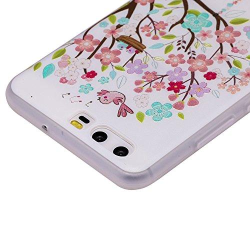 Huawei Silicone Flessibile Custodia Trasparente Swing Bumper Tpu Clear Per In Di Hut Cozy Soft Lite P10 Sott Lite Case Morbida Protettiva Ragazza Cover