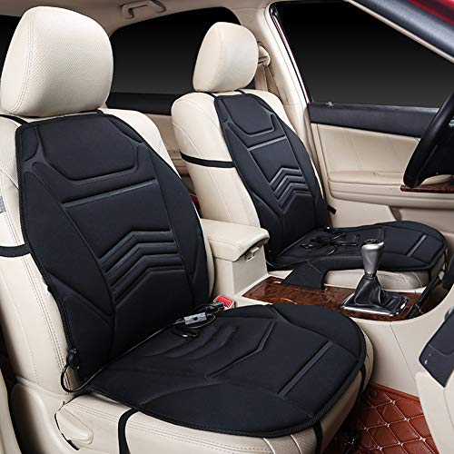 Amyove Kit Auto,Gadget Auto,Universal Car Van Heated Seat Cuscino 12V  Riscaldamento Riscaldatore Warmer Pad Winter