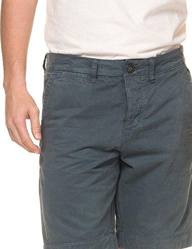 Superdry International Chino Shorts Chrome Blue Blau