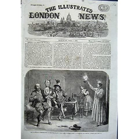 Pabellón 1864 del Festival del Teatro de la Noche de Reyes de Shakspeare [Cocina y Hogar]