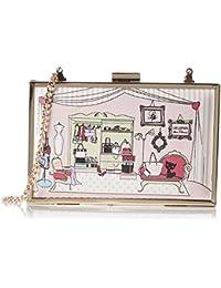 Lollipops femme Zagotine Square Box Pochettes Rose (Pink)