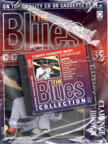 THE BLUES COLLECTION Magazine Issue 35 CLARENCE GATEMOUTH BROWN & JUST GOT LUCKY