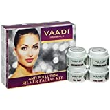 Vaadi Herbals Silver Facial Kit, Rosemary and Lavender Oil, Sandalwood Paste 70GM