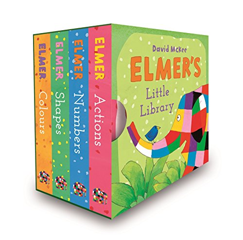 Elmer'S Little Library por David Mckee