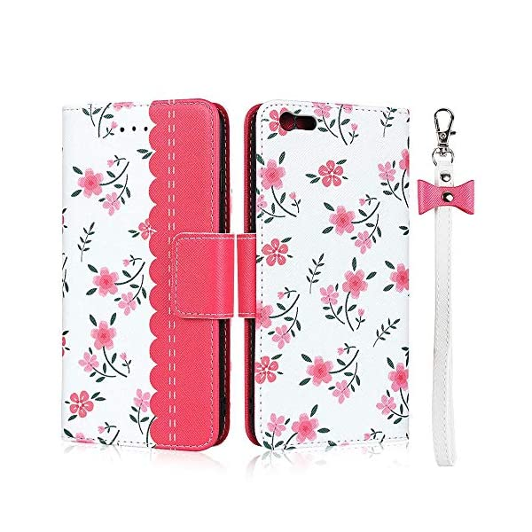 FAWUMAN Case for iPhone 6s /iPhone 6 with Lanyard Premium Flowers PU+TPU Flip Case Wallet Card Slots Mobile Phone Case with Stand Function,Magnetic Closure Protective Case-Red FAWUMAN 1. Compatible model - especially for iPhone 6s /iPhone 6. Before ordering, please choose the right model of the case. 2. Premium Material: Using high quality durable PU leather +TPU outer case, with high quality material lining to avoid scratches and avoid risk of damage to your when dropped. 3.Case offers card slots for credit cards, ID, business cards and cash, cash receipt and invoices. Ideal for festivals, parties or the night at the club. 1