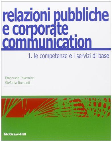 Relazioni pubbliche e corporate communication: 1