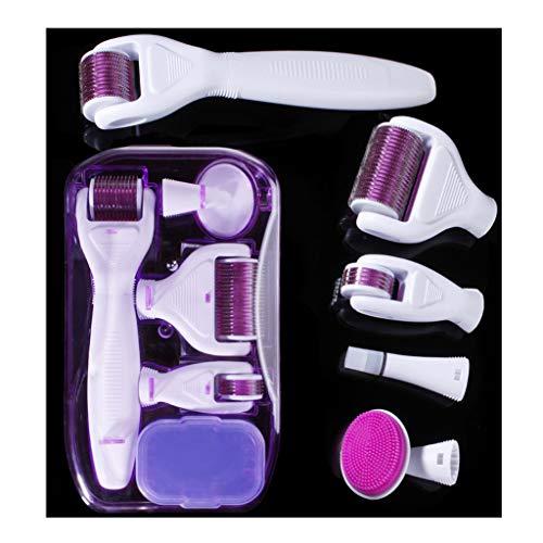 BIEE Dermaroller Kit Medizinprodukt Klasse I mit CE-Kennzeichnung, Hochwertigen Titannadeln