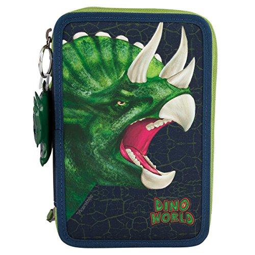 Dino World 8582–Estuche de 3enchufes con sonido colgante