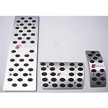 Bestmay Sline Loge - Almohadillas para pedal de freno de coche, compatible con AudiA1,