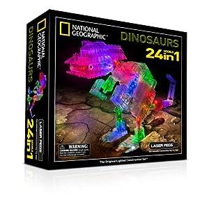 Laser Pegs NG300 Juego de construcción de animales 191pieza(s) juego de construcción - juegos de construcción (Juego de construcción de animales, 191 pieza(s), Multicolor, Batería, AA)