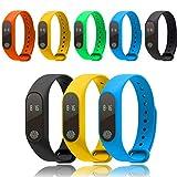 YOGINGO Laufende Kalorienzähler Digital LCD Walking Schrittzähler Handgelenk Sport Fitness Uhr Armband