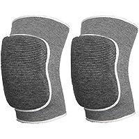 Latinaric Sport Knie Schutzen Knieschoner Kniebandage Knieschützer für Beinumfang 12-20 cm Kinder