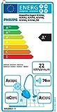 Philips beutelloser Staubsauger PowerPro Expert (A+AA-Energie-Label, 650 W, 2 L Staubvolumen, extra Turbodüse, blau) FC9745/09 - 2