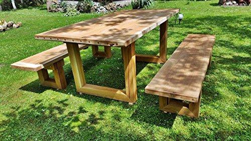 Tavoli E Panche In Legno Rustici.Casa Padrino Mobili Da Giardino Set Tavolo Rustico 2
