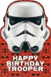 Happy Birthday Stormtrooper Trooper Star Wars Card