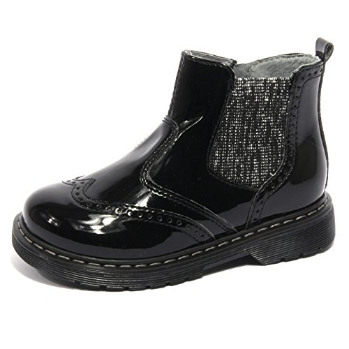 B1828 stivale bimba NERO GIARDINI JUNIOR DIAMOND nero shoe boot kid [25]