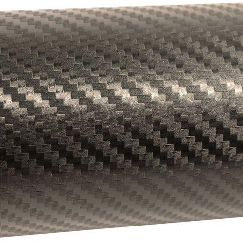 Mauk 1467 Carbonfolie, 1.52 x 3 m, matt-anthrazit / schwarz