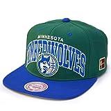 Mitchell & Ness Snapback Minnesota Timberwolves HWC Team Arch green/blue