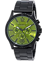Caravelle New York  Sport Analog Champagne Dial Men's Watch - 45A107
