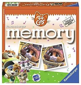 Ravensburger Memory Juego de emparejar Cartas - Juegos de Cartas (Juego de emparejar Cartas, Niños, Niño/niña, 72 Pieza(s))