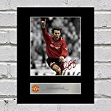 Ryan Giggs Signiertes Foto Display Manchester United FC