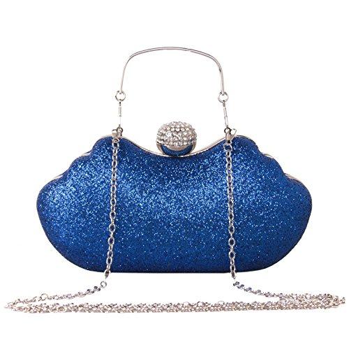 Borsa Di Banchetto Diamante Moda Piccola Borsa Da Sera In Pelle Con Paillettes Glitter Diamante Sposa In Possesso Di Borsa Da Sera Commercio Estero Argenteo