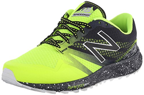 New Balance Mt690 Scarpa Tecnica, Trail Running Fitness, Uomo, Giallo (Hi Lite/Black), 45