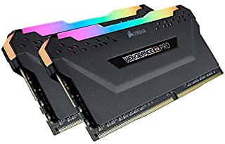 Corsair Vengeance RGB PRO 32 GB (2 x 16 GB) DDR4 3000 MHz C15 XMP 2.0 Enthusiast RGB LED Illuminated Memory Kit - Black (B07GSK2WL3) | Amazon price tracker / tracking, Amazon price history charts, Amazon price watches, Amazon price drop alerts