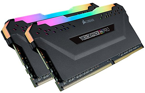 Corsair Vengeance RGB PRO 32GB (2x16GB) DDR4 3200MHz C16 XMP 2.0 Enthusiast RGB LED-Beleuchtung Speicherkit - schwarz - Dram-modul