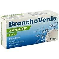 Bronchoverde Hustenlöser 50 mg Brausetabletten, 10 St. preisvergleich bei billige-tabletten.eu