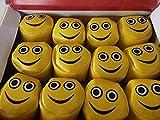 Schnooridoo 12 x Smiley Jonglierbälle Fun Kickball Mitgebsel Kindergeburtstag