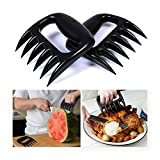 YOUNICER Bear Paws Shredder Claws, Claw Handler Set Zum Ziehen Brisket von Grill Smoker Oder Slow Cooker, Bpa Free Barbecue Pfoten