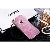 Visibee - Rosa Brillo Bling AntiShock silicona suave caso cubrir para Apple iPhone 7 Plus