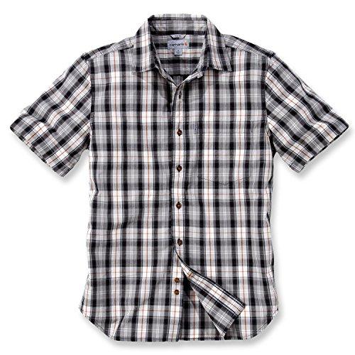 Carhartt 102100 Slim Fit Plaid Shirt, Größe_Bekleidung:M;Carhartt_Farbe:black -