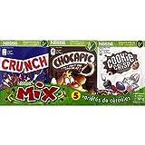 Nestlé - Assortment Of Cereal Varieties Lion Chocapic Nesquik Chokella Cookie Crisp - Céréales Lion Chocapic Nesquik Chokella Cookie Crisp - 190G - Price Per Unit - Fast Delivery