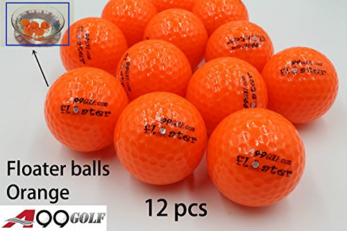 A99 Floater de balle de golf flottant Float Eau Gamme 12, orange