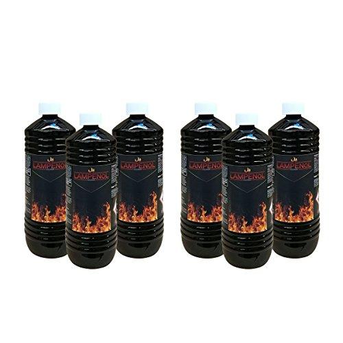 Preisvergleich Produktbild DXP 6 Liter Lampenöl für Öllampen Bambusfackeln Gartenfackel und Wandfackeln