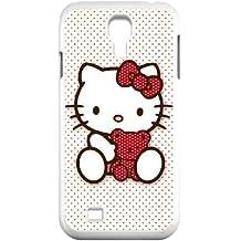 Hello Kitty C0H48B5HF funda Samsung Galaxy S4 9500 funda caso 86C38G blanco