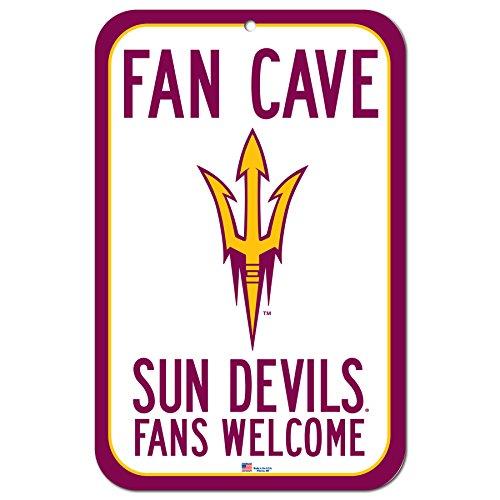 FGCSports 27,9x 43,2cm Fan Cave Fans Welcome Schild Arizona State University Sun Devils -