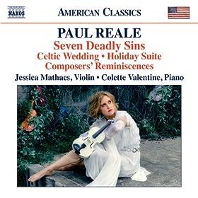 """Violin Sonata, """"Celtic Wedding"""": I. Molto energico ma moderato"""